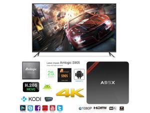 A95X NEXBOX OTT IPTV Internet TV Box 4K Ultra HD Android 6.0 Quad Core 2.0GHz RAM:2GB/ROM:16GB Network Media Player
