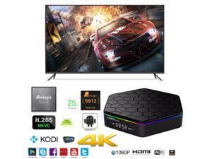 T95Z-Plus OTT IPTV Internet TV Box 4K Ultra HD Android 6.0 Octa Core 2.0GHz RAM:2GB/ROM:16GB Network Media Player