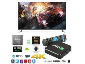 A96X OTT IPTV Internet TV Box 4K Ultra HD Android 6.0 Quad Core 2.0GHz RAM:1GB/ROM:8GB Network Media Player