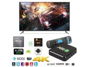 A96Z OTT IPTV Internet TV Box 4K Ultra HD Android 6.0 Quad Core 2.0GHz RAM:2GB/ROM:16GB Network Media Player