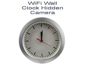 UPGRADED WiFi Wall Clock Hidden Camera PIR Motion Detection Spy DVR Wireless Control P2P HD Table Security Real Time Monitoring Video Audio Picture Covert Surveillance Recording Baby Monitor Nanny Cam
