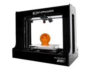 **SPECIAL PROMO** 3D Printer - EVOLUTION Gen 2 - Fully Assembled and Calibrated Desktop 3D Printer - High Resolution Printing - Large Print Volume - Automatic Print Leveling - made by 3D STUFFMAKER