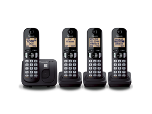 Panasonic KXTGC214 Digital Cordless Phone with 4 handsets