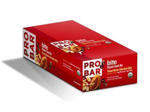 Probar Bite Organic Snack Bars, Peanut Butter, 1.62 Ounce - box of 12 bars