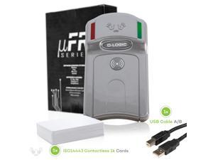 NFC Reader Writer - uFR Classic - RFID Contactless Card Programmer + SDK with samples and 5 cards. Crypto-1, DES, AES128 encryption. Supported Platforms: Windows, Linux, OSX, Raspberry Pi, Beaglebone.