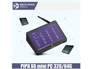 "Original PIPO X8 Tablet PC with Dual OS Windows 8.1 & Android 4.4 Intel Z3736F 1280x800 Screen Quad Core Mini PC 7"" Tablet 64GB"