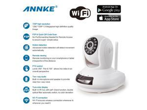 Annke® 3-Pack HD 1280 x 720P Baby/Pets Monitor Wireless WIFI Pan/Tilt IP Camera for Home Security Video Recording Easy Remote Access via PC & Smartphone(3 PACK)