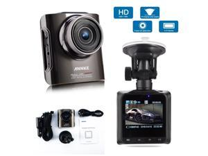 Annke X4 1080P HD Camera - Car DVR Video Recorder with High Resolution Full HD 1080P 30 FPS G-Sensor Car License Plate H.264 170 Degree Wide Angle View - Support HDMI/TV Out Night Vision