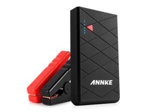 ANNKE High 10000mAh 400A Peak Current Car Portable Charger Power Bank Battery Booster, SOS LED Flashlight, Advanced Safety Protection, Multi Usage for Phone/ Tablet and More Charger