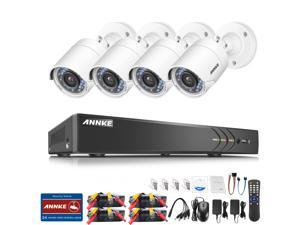 ANNKE 8CH 3.0MP HD-TVI 5-in-1 Surveillance DVR Security System