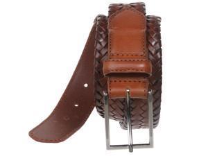 Men's Comfort Stretch Braided Leather Belt