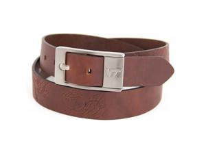 Virginia Tech Hokies NCAA Brandish Leather Belt Size 44