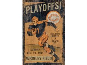 Chicago Bears NFL Vintage Wall Art