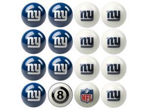 New York Giants NFL 8-Ball Billiard Set