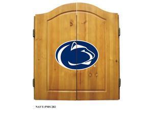 Penn State Nittany Lions NCAA Dart Board w/Cabinet