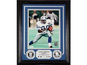 Barry Sanders Hall Of Fame Induction Photomint