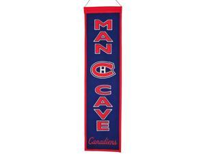 Montreal Canadiens NHL Man Cave Vertical Banner