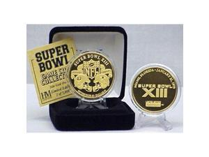 24kt Gold Super Bowl XIII flip coin