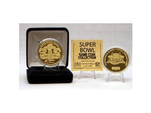 24kt Gold Super Bowl XXXIX flip coin