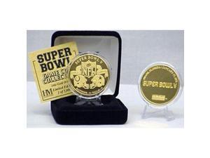 24kt Gold Super Bowl V flip coin
