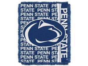 Penn State College 48x60 Triple Woven Jacquard Throw - Double Play Series