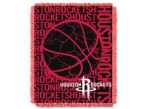 Rockets  48x60 Triple Woven Jacquard Throw - Double Play Series
