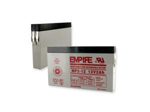 Empire Battery NP2-12 Replaces 12 VOLT 2AH BATTERY