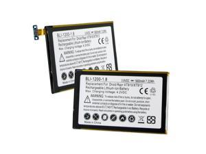 1 Piece of EMPIRE 3.7V 1900mAh Li-Ion Battery for Motorola Atrix HD, Droid Bionic LTE, Electrify 2