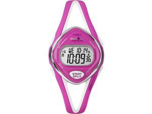 Timex Ironman Women's | Pink Strap Pink Case 50 Lap | Durable Sport Watch T5K655
