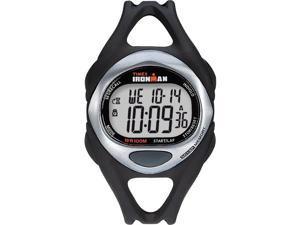 Men's 50-Lap Sport Watch   Resin Strap Chronograph Black   Timex Sleek T54281