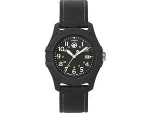 Timex Men's Expedition Camper | Black Dial & Case Luminent Hands | Watch T49689