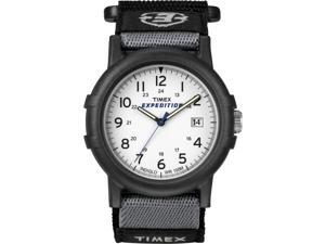 Timex Men's Expedition Camper | Black Case & Fastwrap 24-Hour Dial Watch T49713