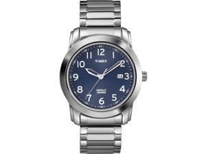 Timex Men's Elevated Classic | Expansion Band & Blue Dial | Dress Watch T2P132