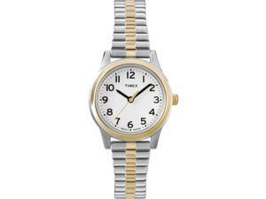 Women's Dress Watch | Two-Tone Band White Dial | Timex Elevated Classic T2N068