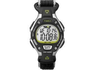 Timex Ironman Women's | Rugged Black & Green Fast Wrap Nylon Strap Watch T5K835