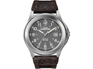 Timex Men's Expedition | Gray Dial & Silver-Tone Case | Metal Field Watch T40091