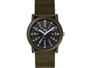 Timex Men's Expedition | Rugged Water-Resistant Green Strap & Case | T41711