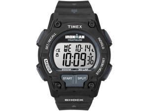 Timex Digital Men's Watch - Ironman Endure 30-Lap Full Size | Black Case & Strap