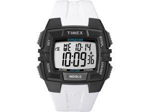 Timex Men's Expedition | White Strap Black Case Indiglo | Digital Watch T49901