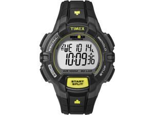 Timex Ironman Men's | Black Case & Yellow Accents | Digital 30-Lap Rugged T5K790