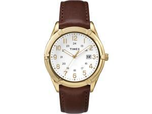 Timex Men's Easton Avenue | Brown Leather Strap 24-Hour Time | Dress TW2P76600