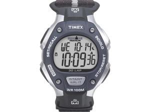 Timex Men's Ironman Classic | 30-Lap Full Size Black/Gray Case & Strap | T5H421