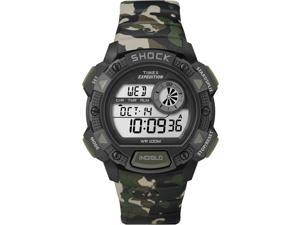 Timex Expedition Base Shock Men's | ISO Chronograph Camouflage Band T49976