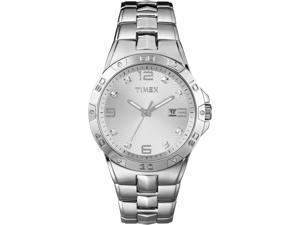 Elevated by Timex | Men's Silver-Tone Case & Stainless Steel Bracelet | T2P270