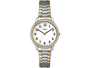 Timex Women's Easy Reader | Two-Tone w White Dial Indiglo Dress Watch TW2P78700