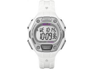 Women's Sports Watch | 30-Lap Timer White Resin Strap | Timex Ironman TW5K89400