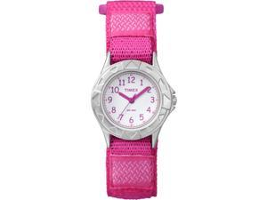 Timex Youth My First Timex Outdoors | Pink Fastwrap Chrome Case Watch TW7B99900