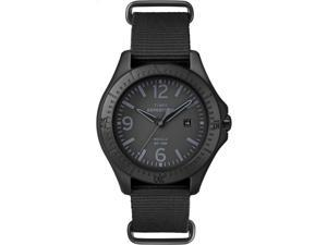 Timex Unisex Expedition Camper Elevated | Black Case Black Nylon Strap | T49933