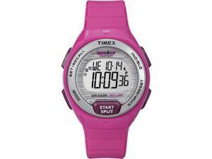 Timex Women's Digital Ironman 30-Lap Midsize Pink Strap Running Watch