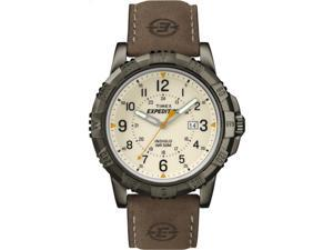 Timex Men's Expedition | Beige Dial Leather Strap 50m Water-Resistance | T49990